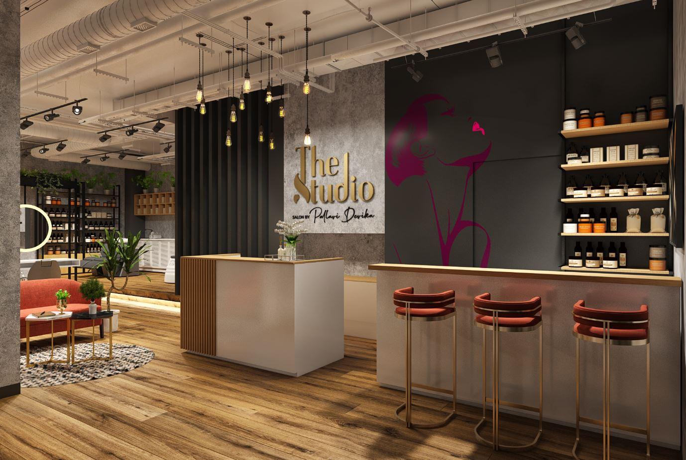 Retial design Beuaty salon design by DZ design in Dubai