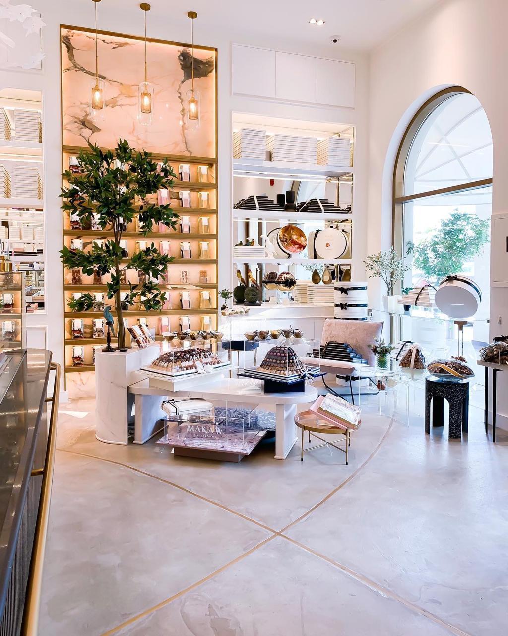Makaw Chocolate shop design by DZ Design interior design in dubai